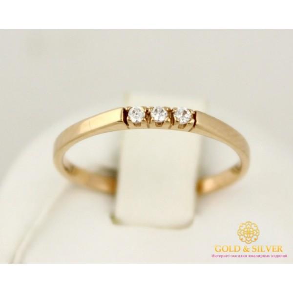 Золотое кольцо 585 проба. Женское Кольцо 1,11 грамма. kv059 , Gold & Silver Gold & Silver, Украина