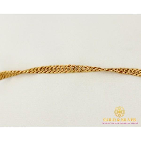 Золотой Браслет 585 проба. Браслет с красного золота, плетение Сингапур. 8296120 , Gold & Silver Gold & Silver, Украина