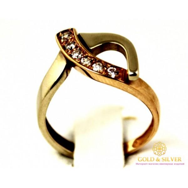 Золотое кольцо 585 проба. Женское Кольцо 2,8 грамма. 330537 , Gold & Silver Gold & Silver, Украина