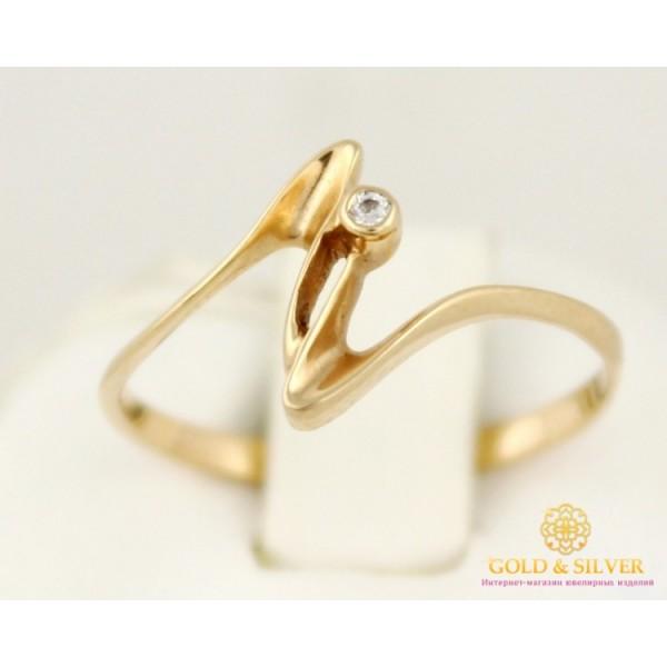 Золотое кольцо 585 проба.  Женское Кольцо 1,09 грамма. kv043i , Gold &amp Silver Gold & Silver, Украина