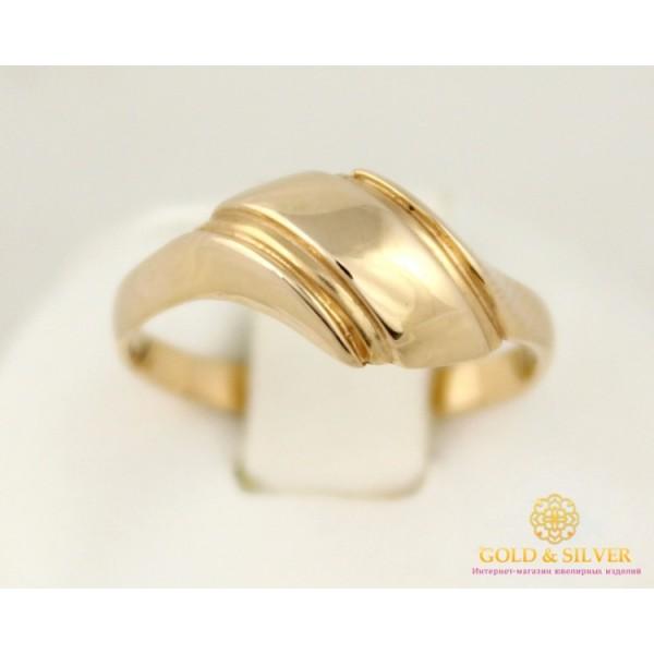 Золотое кольцо 585 проба. Женское Кольцо без вставок из красного золота. 1,76 грамма. 15,5 размер kb010i , Gold & Silver Gold & Silver, Украина