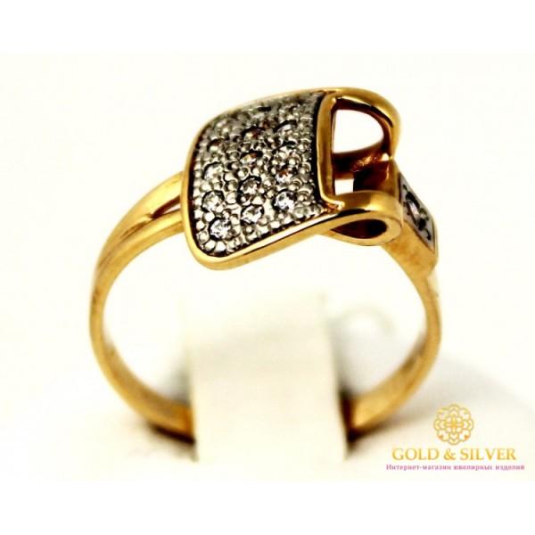 Золотое кольцо 585 проба. Женское Кольцо с красного золота. 2,79 грамма. kv226i , Gold & Silver Gold & Silver, Украина