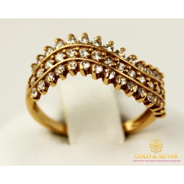 Золотое кольцо 585 проба. Женское Кольцо с красного золота. 2,16 грамма. kv952i , Gold & Silver Gold & Silver, Украина