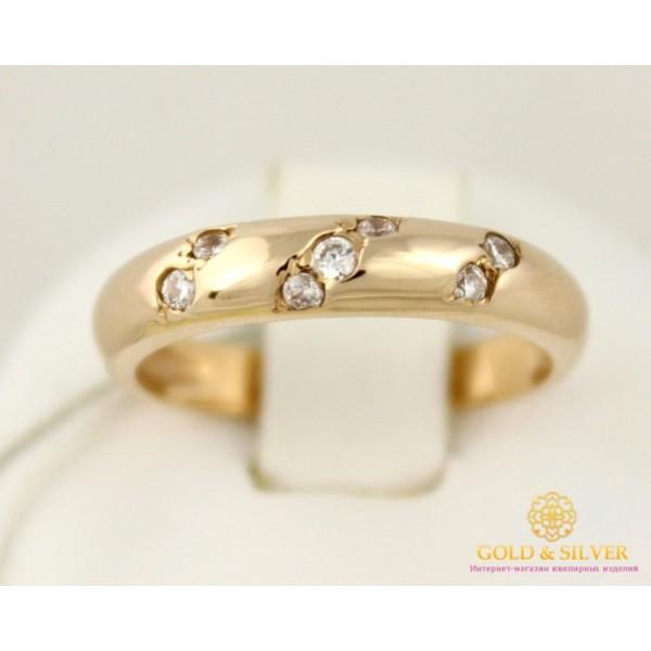 Золотое Женское Кольцо. Золото 585 пробы. Кольцо 2,47 грамма kv070 , Gold &amp Silver Gold & Silver, Украина