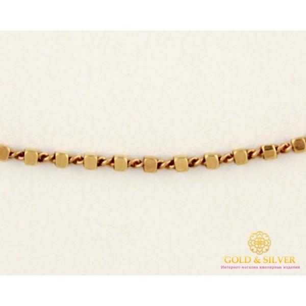 Золотая Цепь 585 проба. Цепочка с красного золота, плетение Сатурн. 5300113043 , Gold & Silver Gold & Silver, Украина