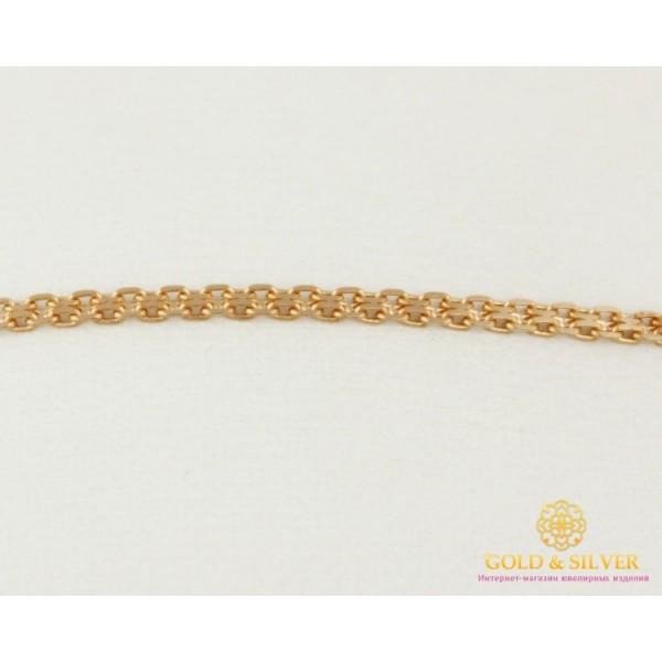 Золотой Браслет 585 проба. Женский браслет, с красного золота, плетение Бисмарк 521223041 , Gold & Silver Gold & Silver, Украина