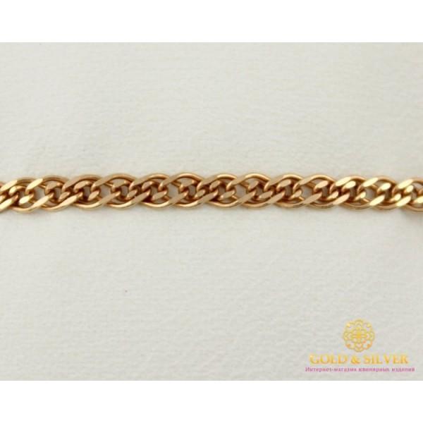 Золотой Браслет 585 проба. Женский Браслет с красного золота Плетение Нона 522024041 17 , Gold & Silver Gold & Silver, Украина