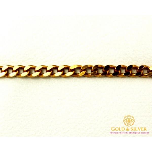 Золотой Браслет 585 проба. Женский браслет с красного золота. Классический Панцирь 829540 , Gold & Silver Gold & Silver, Украина