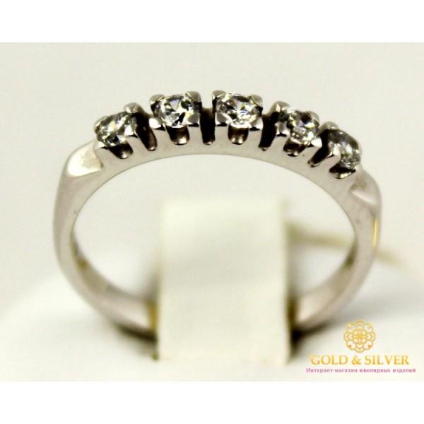 Золотое кольцо 585 проба. Женское Кольцо с белого золота. 2,34 грамма. 5722460 , Gold & Silver Gold & Silver, Украина