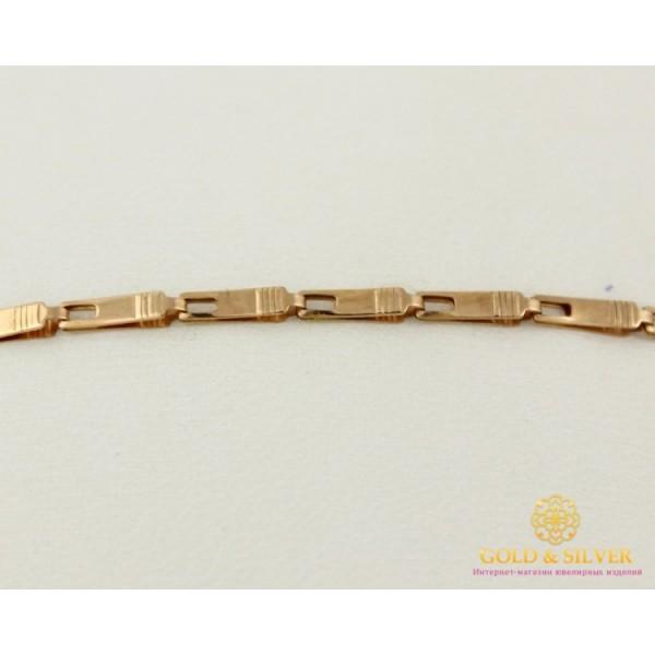 Золотой Браслет 585 проба. Браслет с красного золота, унисекс bc044 , Gold & Silver Gold & Silver, Украина