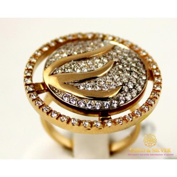 Золотое кольцо 585 проба. Женское Кольцо Шифон с красного золота. 11,6 грамма. kv569 , Gold &amp Silver Gold & Silver, Украина