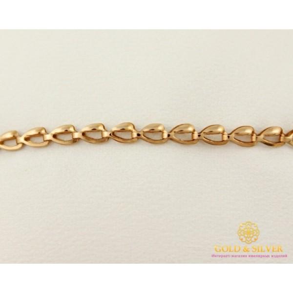 Золотой Браслет 585 проба. Женский браслет с красного золота, плетение Ракушки bc064 , Gold & Silver Gold & Silver, Украина