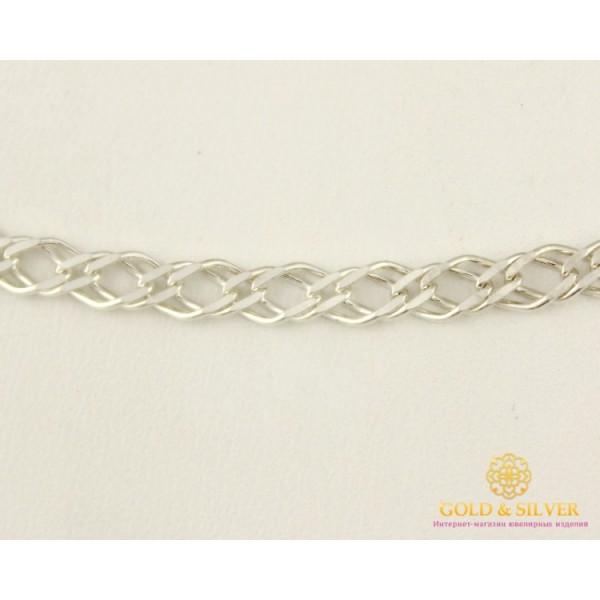 Серебряная Цепь Р925 проба. Цепочка серебряная плетение Ромб, 65 сантиметров 5270p , Gold & Silver Gold & Silver, Украина