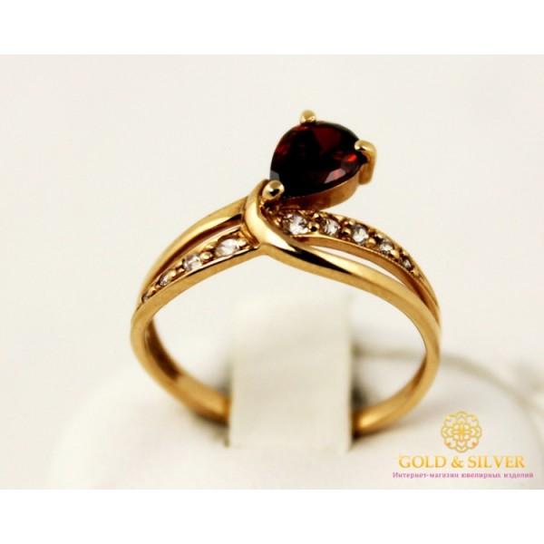 Золотое кольцо 585 проба. Женское кольцо с красного золота,10212 , Gold & Silver Gold & Silver, Украина