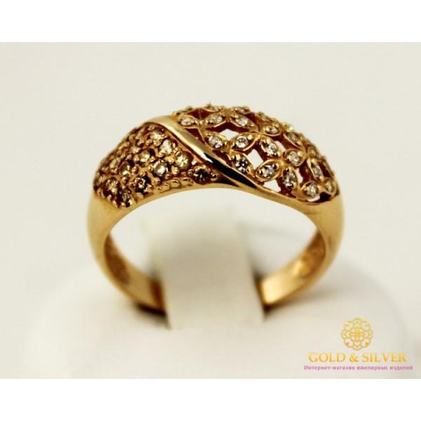 Золотое кольцо 585 проба. Женское Кольцо 10373 , Gold & Silver Gold & Silver, Украина