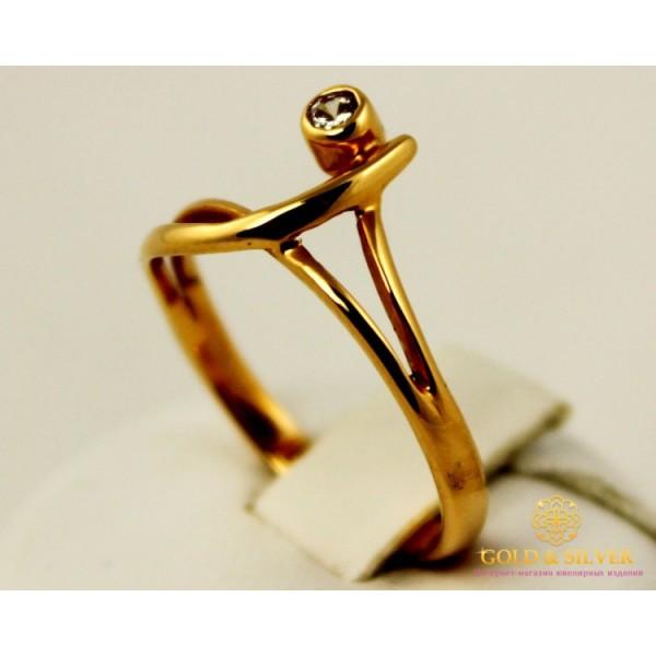 Золотое кольцо 585 проба. Женское золотое Кольцо Нота kv341 , Gold & Silver Gold & Silver, Украина