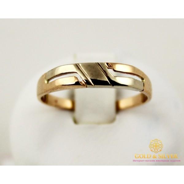 Золотое кольцо 585 проба. Кольцо с красного и белого золота. 2,21 грамма. 310034 , Gold & Silver Gold & Silver, Украина