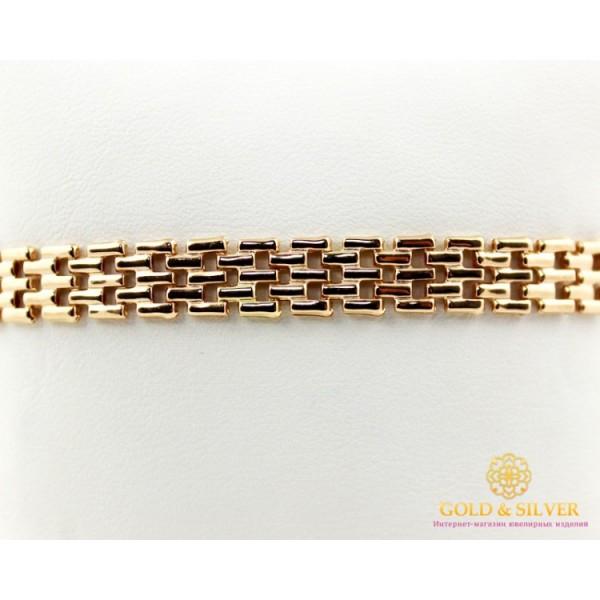 Золотой Браслет 585 проба. Женский браслет, с красного золота. 811088 , Gold & Silver Gold & Silver, Украина