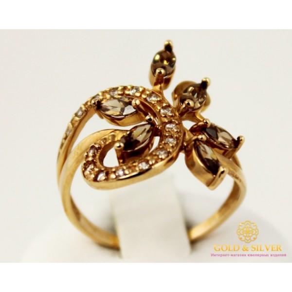 Золотое кольцо 585 проба. Женское Кольцо Шампань 3,5 грамма. 11336 , Gold & Silver Gold & Silver, Украина