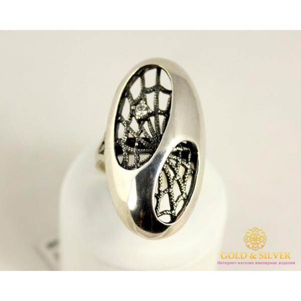 Серебряное кольцо 925 проба. Женское Кольцо Паутина 1254 , Gold & Silver Gold & Silver, Украина