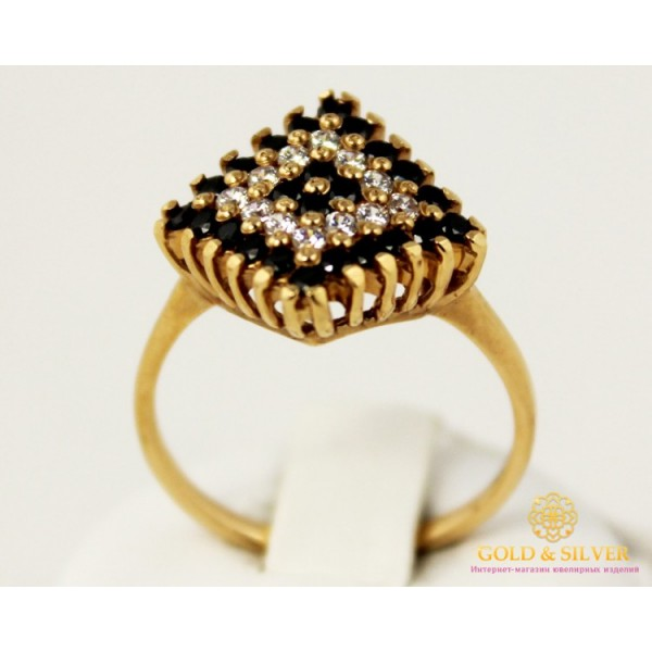 Золотое кольцо 585 проба. Женское Кольцо с желтого золота. 4,32 грамма. kv247100i , Gold & Silver Gold & Silver, Украина