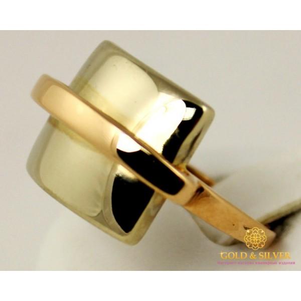 Золотое кольцо 585 проба. Женское Кольцо красное и белое золото. 310097 , Gold & Silver Gold & Silver, Украина