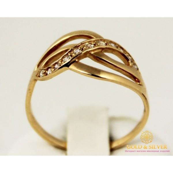 Золотое кольцо 585 проба. Женское Кольцо 3 грамма. kv1035i , Gold &amp Silver Gold & Silver, Украина