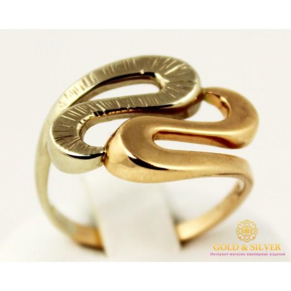 Золотое кольцо 585 проба. Женское Кольцо красное и белое золото. 310200 , Gold &amp Silver Gold & Silver, Украина