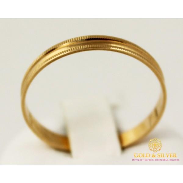 Золотое Кольцо 585 проба. Обручальное кольцо с красного золота. ok001 , Gold &amp Silver Gold & Silver, Украина