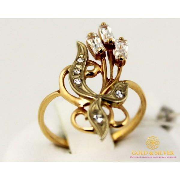 Золотое кольцо 585 проба. Женское Кольцо с красного и белого золота. 2,65 грамма. kv936i , Gold & Silver Gold & Silver, Украина