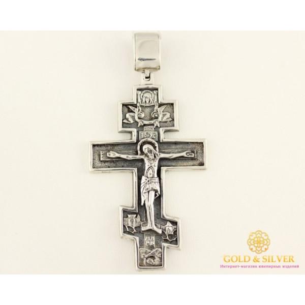 Серебряный крест 925 проба. Крест черненый старокиевский 3009 , Gold &amp Silver Gold & Silver, Украина