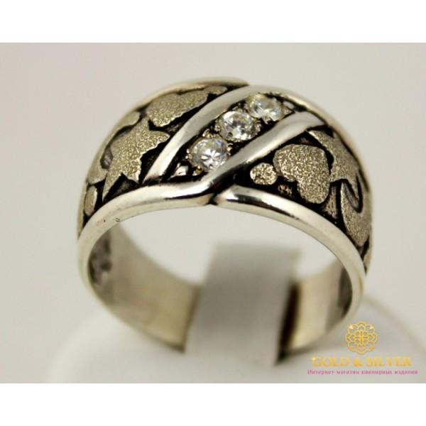 Серебряное кольцо 925 проба. Женское Кольцо Адажио 1001 , Gold &amp Silver Gold & Silver, Украина