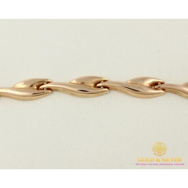 Золотой браслет 585 проба. Женский Браслет с красного золота. 850003 , Gold & Silver Gold & Silver, Украина