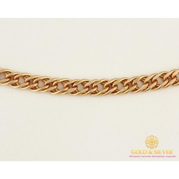 Золотая Цепь 585 проба. Цепочка с красного золота, плетение Тройной Ромб, 4,5 грамма, 50 сантиметров. 50106205041n(50) , Gold & Silver Gold & Silver, Украина