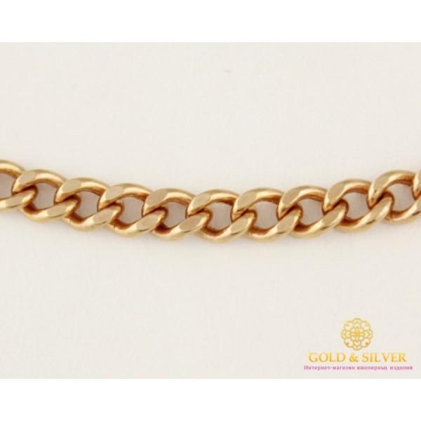 Золотая Цепь 585 проба. Цепочка с красного золота, Панцирная, дутая, 50 сантиметров 50101110041n(50) , Gold & Silver Gold & Silver, Украина