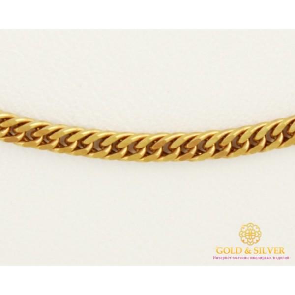 Золотая Цепь 585 проба. Цепочка с красного золота, плетение Ромб, 55 сантиметров 8385720(55) , Gold & Silver Gold & Silver, Украина