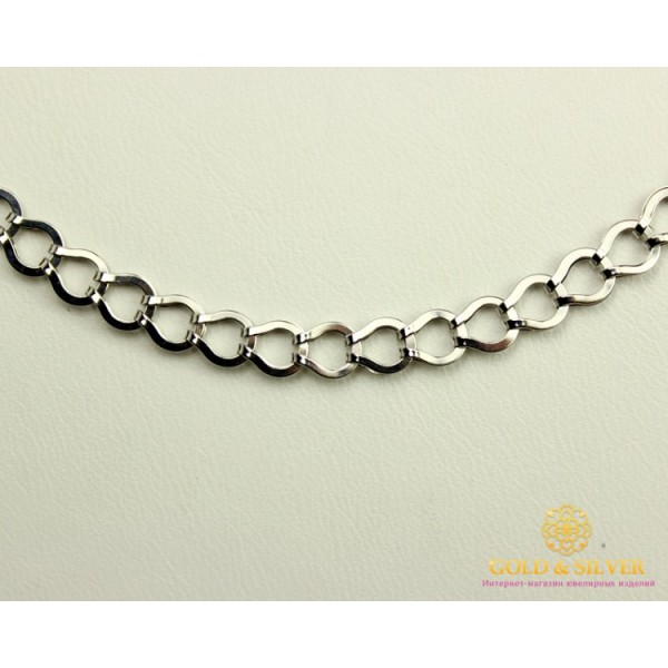 Серебряная Цепь 925 проба. Женская серебряная цепочка, 50 сантиметров. 800097C  , Gold & Silver Gold & Silver, Украина