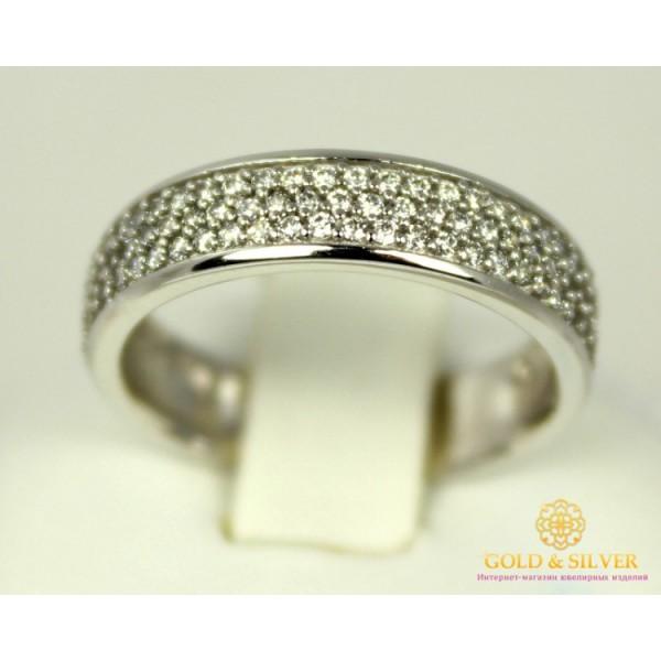 Золотое кольцо 585 проба. Женское Кольцо с белого золота. 3,42 грамма. kv446Bi , Gold &amp Silver Gold & Silver, Украина