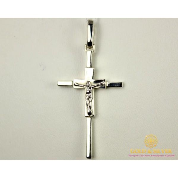 Серебряный Крест 925 проба. kp051c , Gold & Silver Gold & Silver, Украина