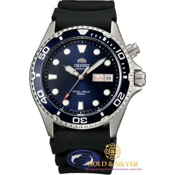 Мужские Часы Полимер Orient FEM6500CD9 , Gold & Silver Gold & Silver, Украина