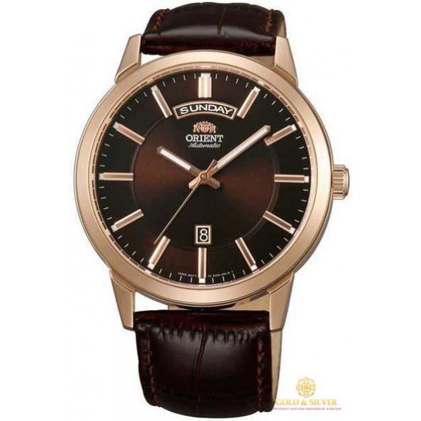 Мужские часы Orient FEV0U002TH , Gold &amp Silver Gold & Silver, Украина