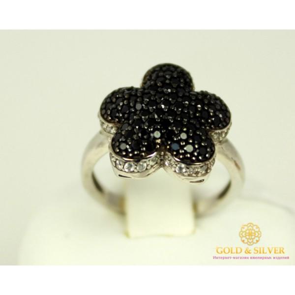 Серебряное Кольцо 925 проба. Женское кольцо Цветок Матиола 16009р , Gold & Silver Gold & Silver, Украина