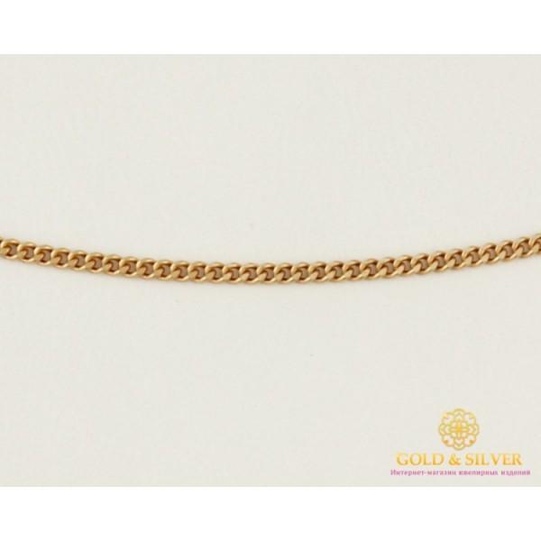 Золотая Цепь 585 проба. Цепочка с красного золота, плетение Панцирь, 50 сантиметров cm047(50) , Gold & Silver Gold & Silver, Украина