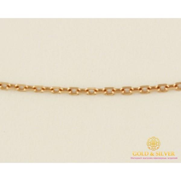 Золотая Цепь 585 проба. Цепочка с красного золота, плетение Якорь, 40 сантиметров 50102103044(40) , Gold & Silver Gold & Silver, Украина