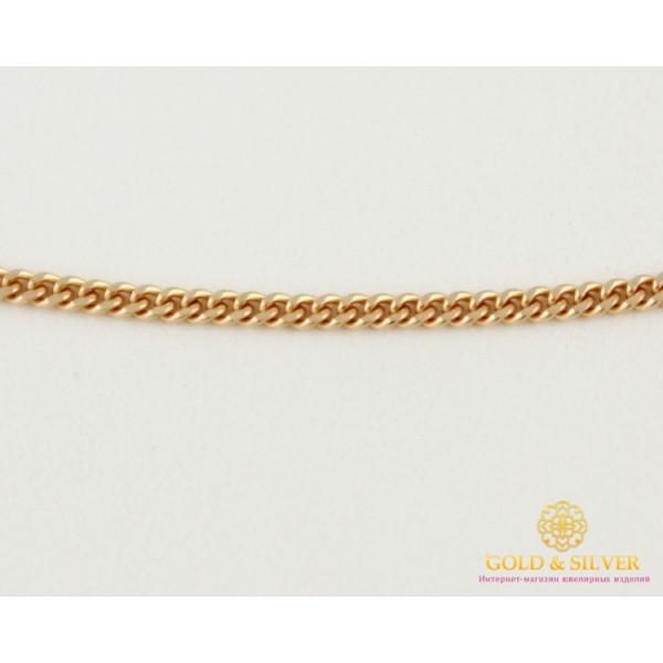 Золотая Цепь 585 проба. Цепочка плетение Панцирь, с красного золота 40 сантиметров 1,87 грамма 50101103041(40) , Gold & Silver Gold & Silver, Украина