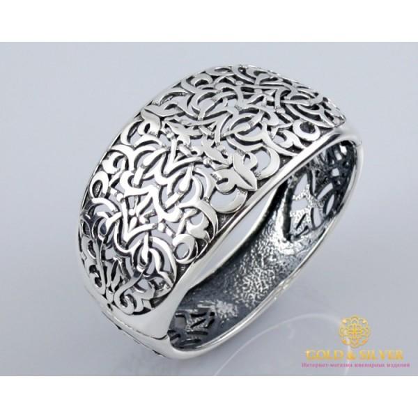 Серебряный Браслет 925 проба. Женский серебряный широкий браслет, Шахерезада 4104 , Gold & Silver Gold & Silver, Украина
