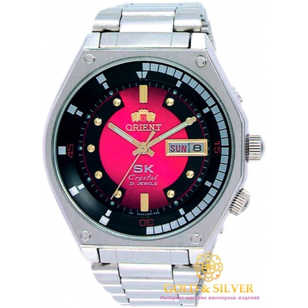 Мужские Часы Orient FEMAL001H6 , Gold & Silver Gold & Silver, Украина