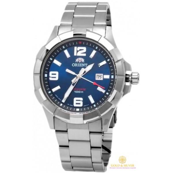 Мужские Часы Титан Orient FUNE6001D0 , Gold & Silver Gold & Silver, Украина