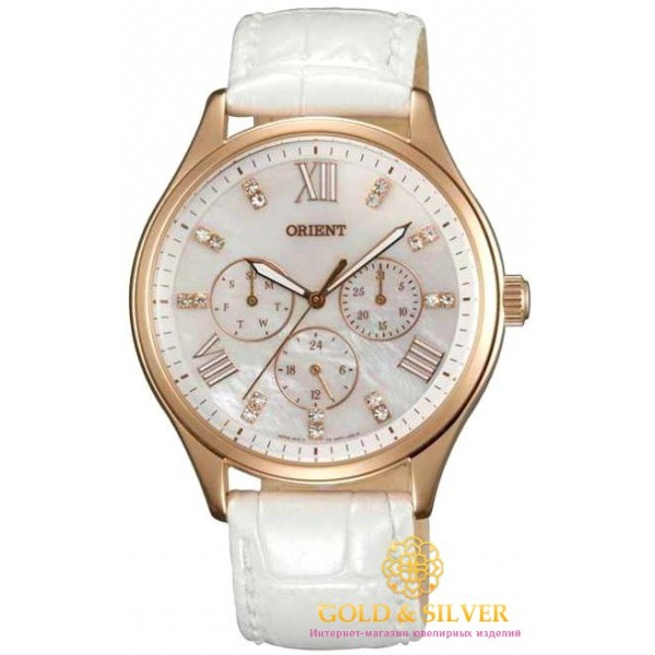 Женские Часы Кварцевые Orient FUX01002W0 , Gold & Silver Gold & Silver, Украина