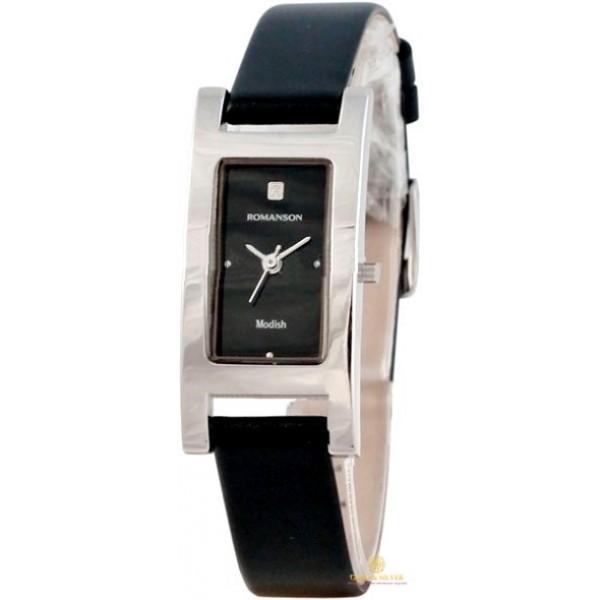 Женские Часы кварцевые Romanson DL9198SLWH BLACK , Gold & Silver Gold & Silver, Украина
